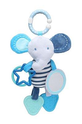 Brinquedo de Pendurar Elefante Azul - Storki