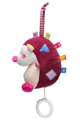 Brinquedo Musical Porco Espinho Vinho - Storki