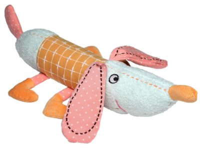 Brinquedo de Pelúcia Cachorro Laranja - Storki