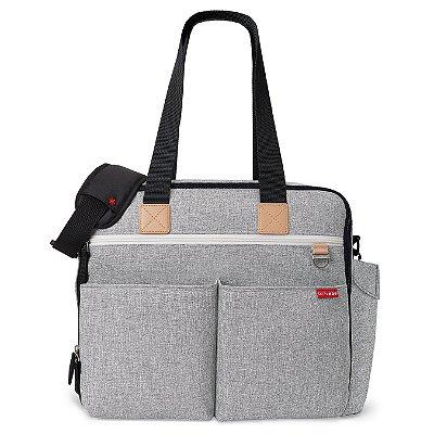 Bolsa Maternidade (Diaper Bag) Duo Weekender - Grey Melange Skip Hop