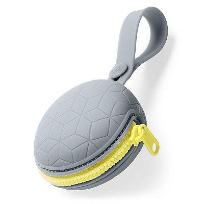 Porta Chupeta de Silicone (Grab & Go) - Skip Hop  - Grey