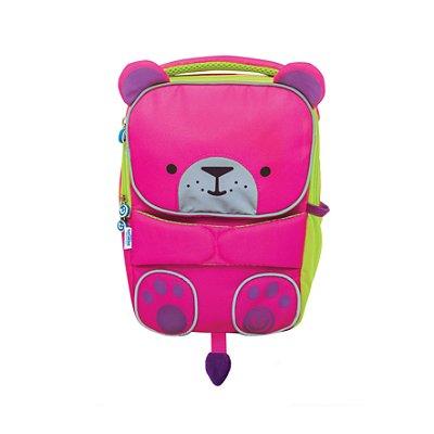 Mochila Infantil Toddlepak Trunki- Urso Betsy - cor Rosa