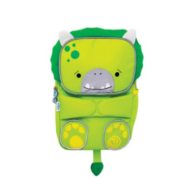 Mochila Infantil Toddlepak Trunki -  Dinossauro Dudley - cor Verde