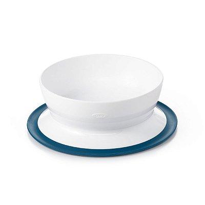 Prato ( Bowl) com Suporte de sucção Oxotot - Azul Marinho