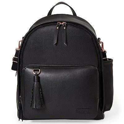 Bolsa Maternidade Skip Hop - Coleção Greenwich Simply Chic Backpack ( mochila) - Cor Black