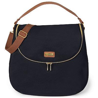 Bolsa Maternidade Skip Hop Curve Diaper Bag Satchel Preta