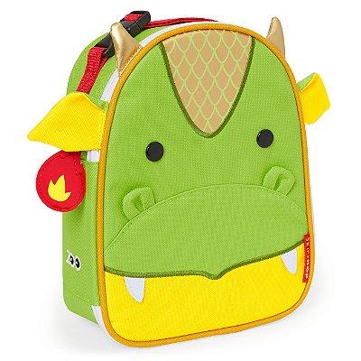Lancheira Infantil Skip Hop - Linha Zoo - Coleção Dragão