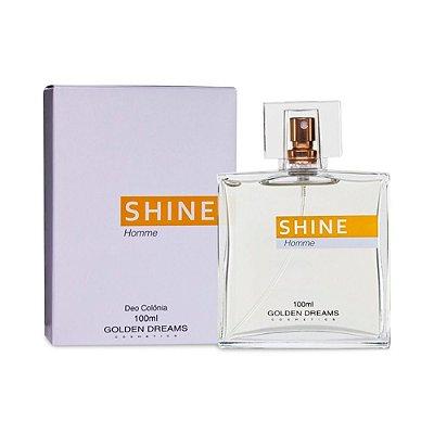 Deo Colônia Golden Dreams Cosmetics  Shine 100 ml