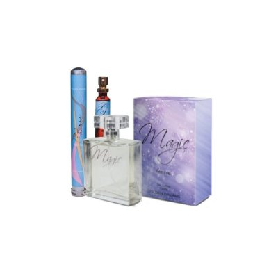 Kit Perfume Feminino Magic Deo Colônia - 100ML + Charm Deo Colônia - 35ML