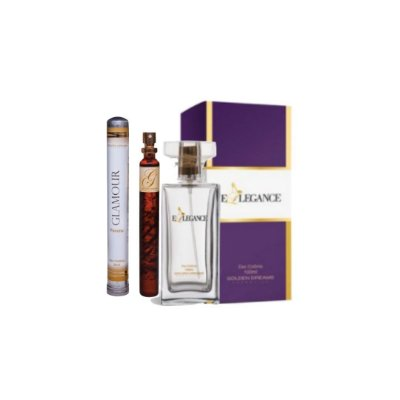 Kit Perfume Feminino Ellegance Deo Colônia - 100ML + Glamour Deo Colônia - 35ML