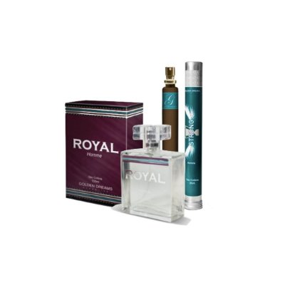 Kit Perfume Masculino Royal Deo Colônia 100ml + Strong Deo Colônia 35ml