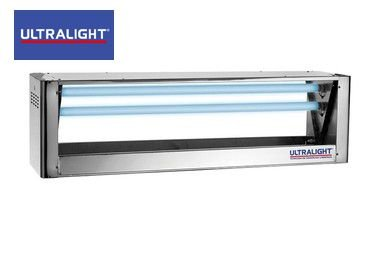 Armadilha Luminosa Mata-Mosca Central Inox CI-60