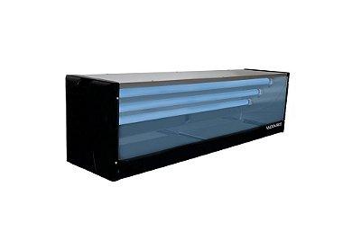 Armadilha Luminosa Mata-Mosca Lateral Inox LI-90
