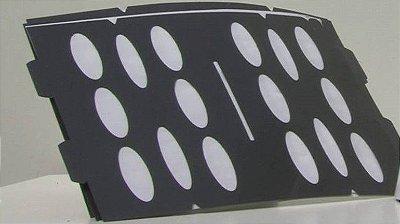 Placa Adesiva (Refil) p/ Línea - Pacote com 5 unidades