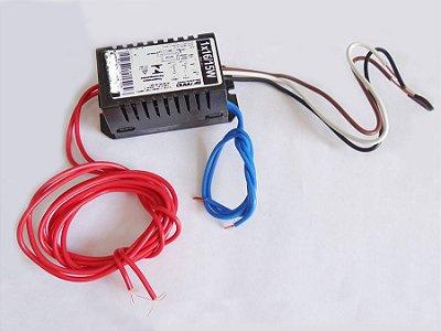 Reator duplo 1x16w/15w. para 1 lâmpada UV-A de 15w.