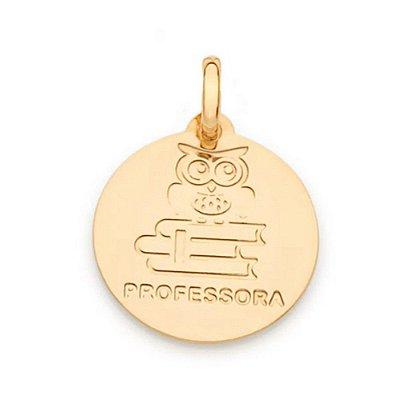 PINGENTE ROMMANEL SÍMBOLO PROFISSÃO PROFESSORA 542378