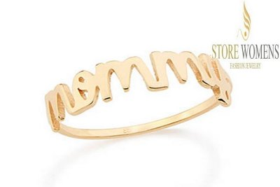 ROMMANEL 512208 ANEL SKINNY RING COM A DESCRIÇÃO MOMMY