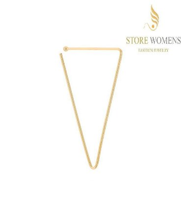 BRINCOS ROMMANEL EAR HOOK TRIANGULAR 525992