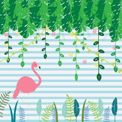 Painel Flamingo