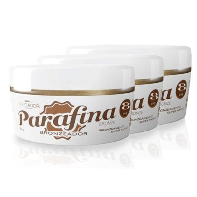 Parafina Bronze FPS 8 - Pote (3 unids)