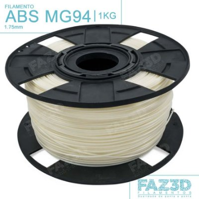 Filamento ABS MG94 (Premium) 1.75mm Natural - 1Kg