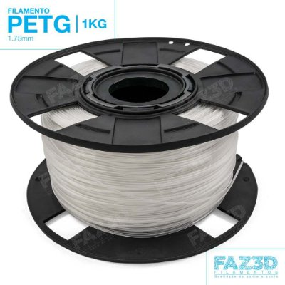 Filamento PETG 1.75mm Natural - 1Kg