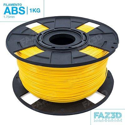 Filamento ABS 1.75mm Amarelo - 1Kg