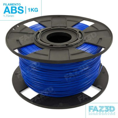 Filamento ABS 1.75mm Azul - 1Kg