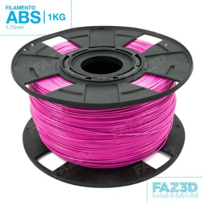 Filamento ABS 1.75mm Rosa - 1Kg