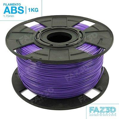 Filamento ABS 1.75mm Roxo - 1Kg