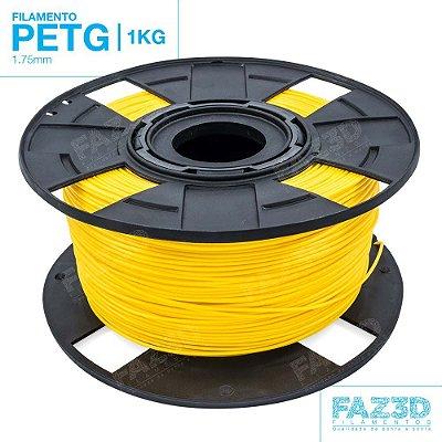 Filamento PETG 1.75mm Amarelo - 1Kg