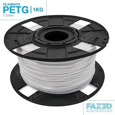 Filamento PETG 1.75mm Branco - 1Kg