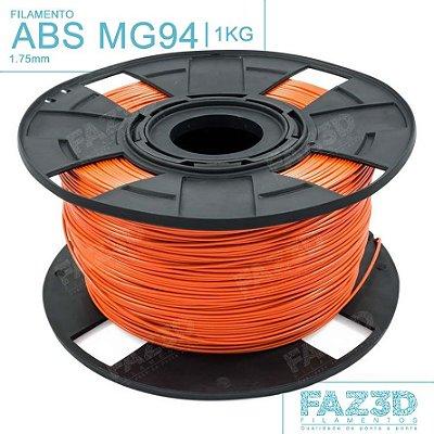 Filamento ABS MG94 (Premium) 1.75mm Laranja - 1Kg