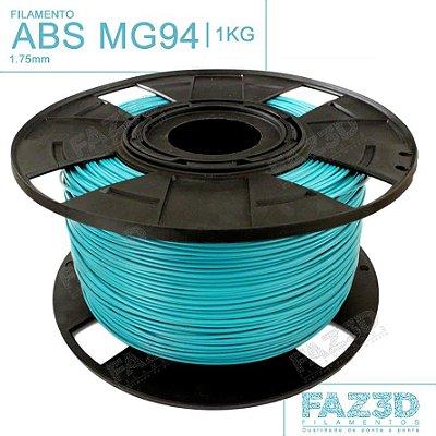 Filamento ABS MG94 (Premium) 1.75mm Azul Turquesa - 1Kg
