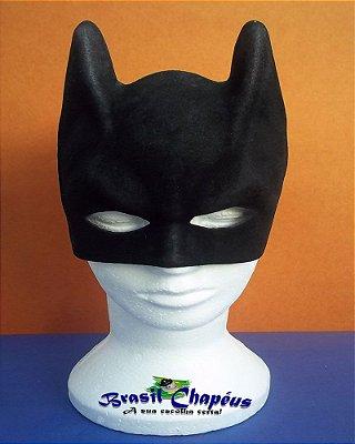 Máscara do Homem Morcego-de-Eva-flocada-Fabricação-Própria