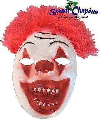 Máscara Palhaço Risadinha de Eva emborrachada - Fabricação Própria