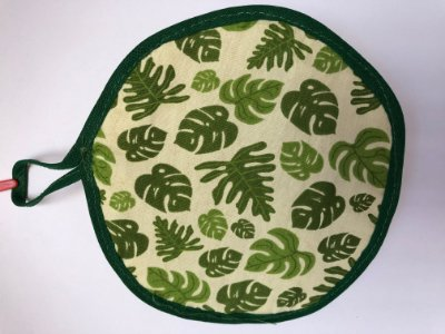 Bucha vegetal redonda