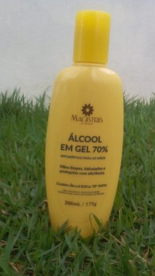 Álcool gel 200ml-175g