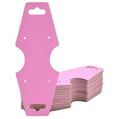 Cartela Gravata Media Para Conjunto - 4,9 X 12 cm - C29B Rosa Fosco