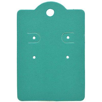 Cartela Capela para 2 Pares de Brincos - 5,5 x 8 cm - C190 Tiffany