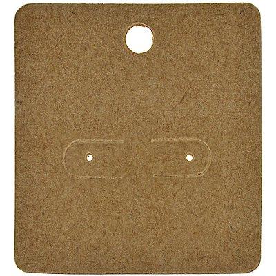 Cartela Para Brincos 5,5 x 6 cm - C1 Kraft