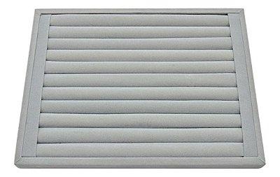 Bandeja Grande Rolinho Para Anel 38 X 29 X 2,5 Cm - Veludo
