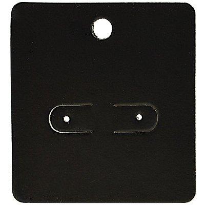 Cartela Para Brincos 5,5 x 6 cm - C1 Preta