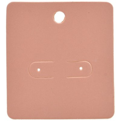 Cartela Para Brincos 5,5 x 6 cm - C1 Rosa