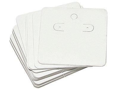 Cartela Para Brincos 60 x 60 - Branca C44