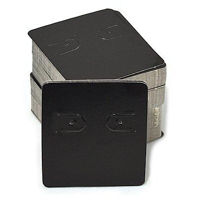 Cartela Para 1 Par de Brincos - 39 x 44 - Preta C60