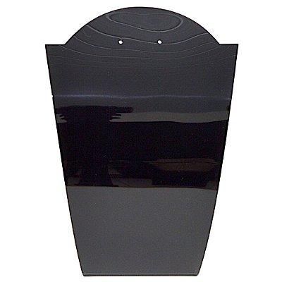 Expositor Médio em Acrilico para conjunto Brinco e Correntes A10 M - Preto