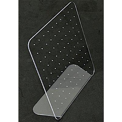 Expositor Acrilico Para Brincos 90 Furos A21 - Cristal Incolor