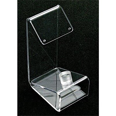 Expositor em Acrílico Para Anel E Brinco A60 - Cristal Incolor