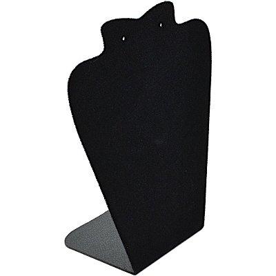 Expositor para Corrente e Brinco 13 x 18 cm - A6 Busto - Veludo Preto